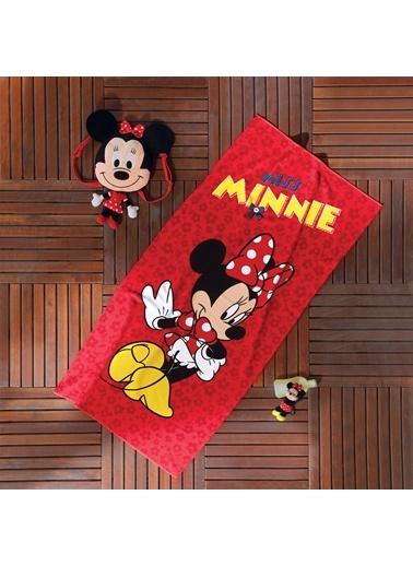 Disney Miss Minnie Plaj Havlusu-TAÇ